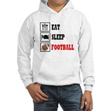 Eat Sleep Football Hoodie