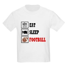 Eat Sleep Football T-Shirt