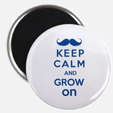 """Keep calm and grow on 2.25"""" Magnet (100 pack)"""