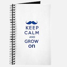 Keep calm and grow on Journal