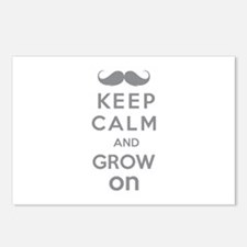 Keep calm and grow on Postcards (Package of 8)