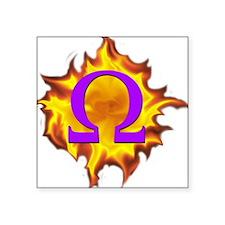 """We are Omega! Square Sticker 3"""" x 3"""""""