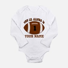 1st birthday allstar football Long Sleeve Infant B