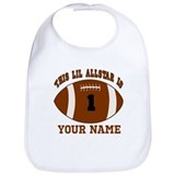 Baby football Cotton Bibs