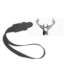 Deer Head Luggage Tag