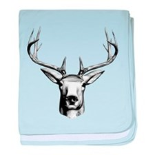 Deer Head baby blanket