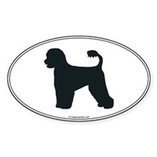 Portie Silhouette Oval Decal