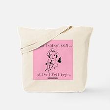 Hello Shift Pink Nurse Tote Bag