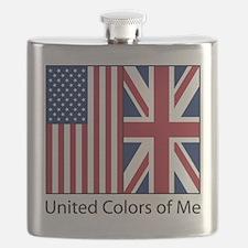 US UK Me Flask