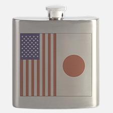 US and Japan Flask
