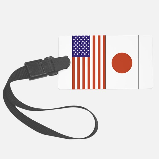 US and Japan Luggage Tag