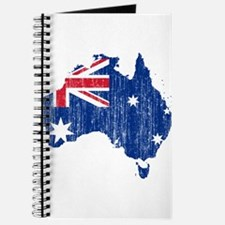 Australia Flag And Map Journal