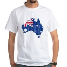 Australia Flag And Map Shirt