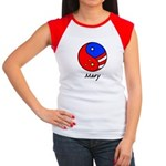 Mary Women's Cap Sleeve T-Shirt