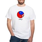 Mary White T-Shirt