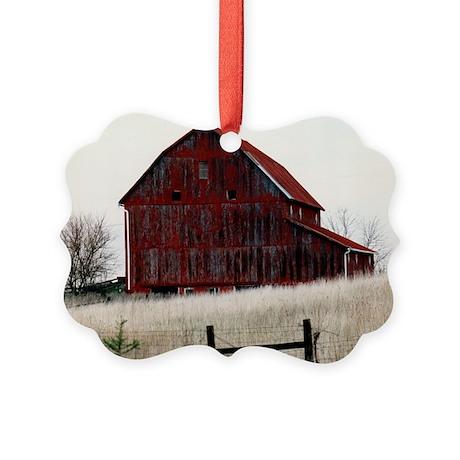 American Barns No.3 Picture Ornament