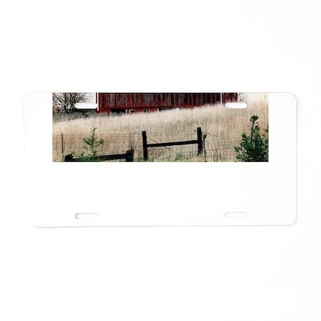 American Barns No.3 Aluminum License Plate
