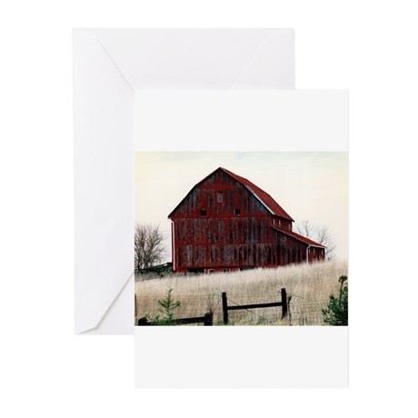 American Barns No.3 Greeting Cards (Pk of 20)