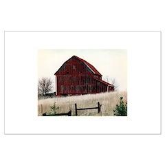 American Barns No.3 Posters