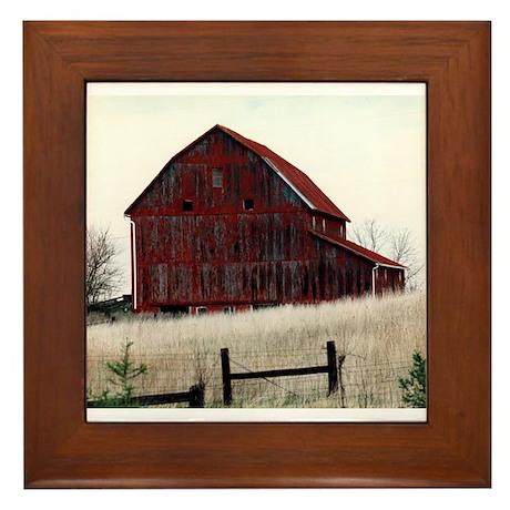American Barns No.3 Framed Tile