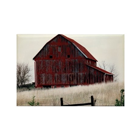 American Barns No.3 Rectangle Magnet (10 pack)