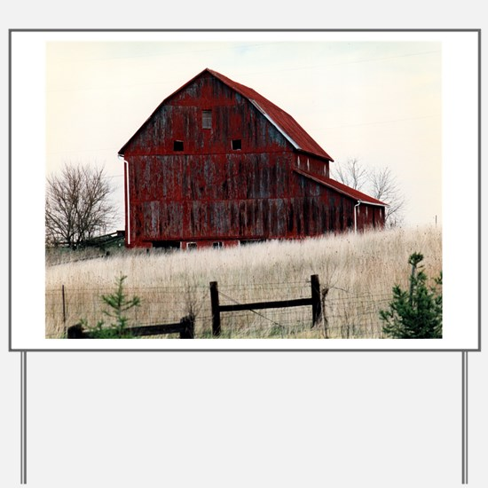 American Barns No.3 Yard Sign