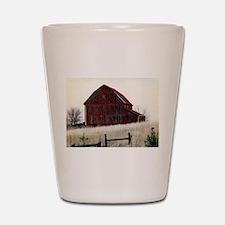 American Barns No.3 Shot Glass