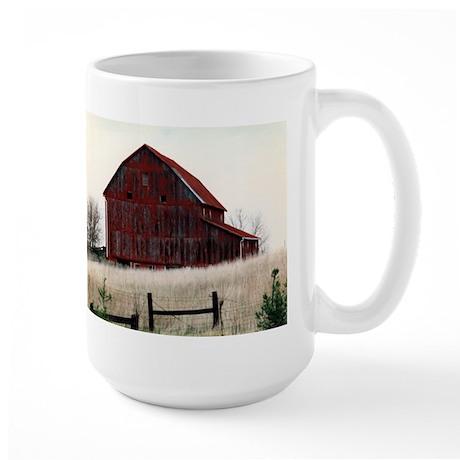 American Barns No.3 Large Mug