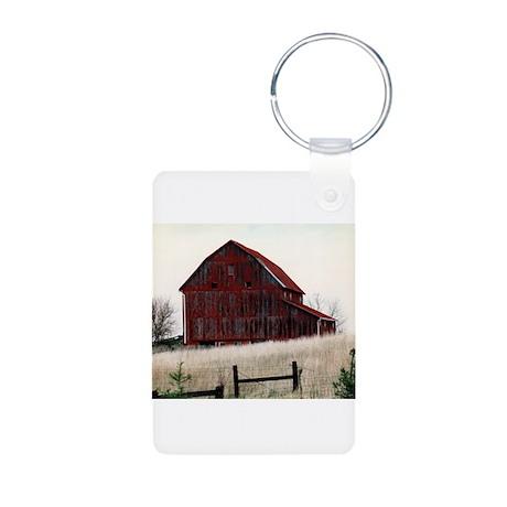American Barns No.3 Aluminum Photo Keychain