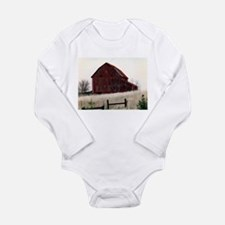 American Barns No.3 Long Sleeve Infant Bodysuit
