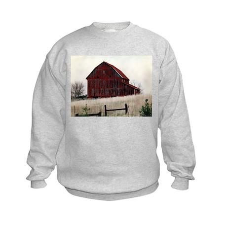 American Barns No.3 Kids Sweatshirt