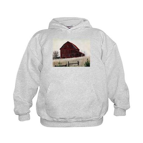 American Barns No.3 Kids Hoodie