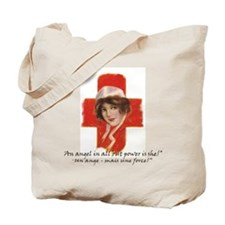 French Red Cross Poster NurseTote Bag