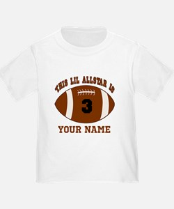 3rd Birthday Football T