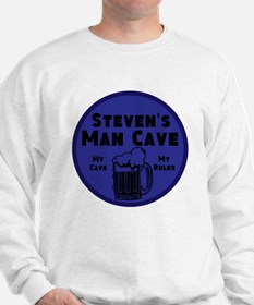 Personalized Man Cave Sweatshirt
