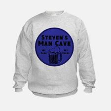 Personalized Man Cave Sweatshirt
