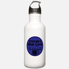 Personalized Man Cave Water Bottle