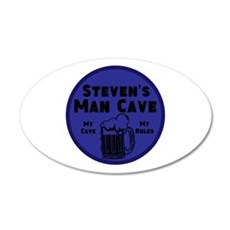 Personalized Man Cave Wall Decal