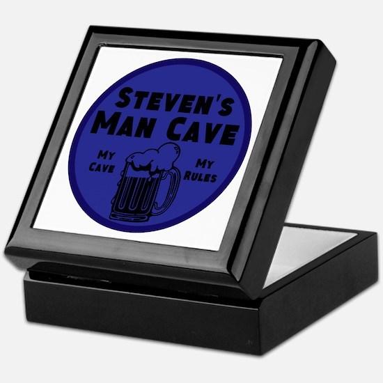 Personalized Man Cave Keepsake Box