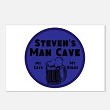 Personalized Man Cave Postcards (Package of 8)