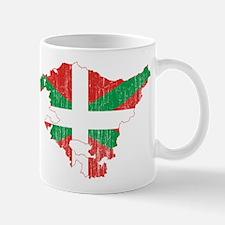 Basque Community Flag And Map Mug