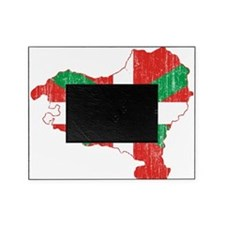 Basque Flag And Map Picture Frame