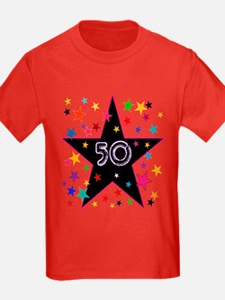 50th! Festive, Birthday, Anniversary! T