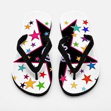 50th! Festive, Birthday, Anniversary! Flip Flops