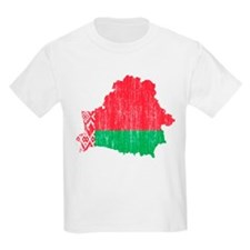 Belarus Flag And Map T-Shirt