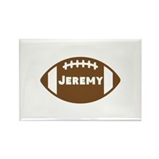 Personalized Football Rectangle Magnet