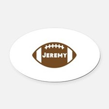 Personalize Football Car Magnets Personalized Personalize - Custom football car magnets