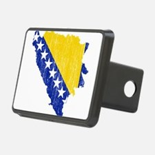 Bosnia And Herzegovina Flag And Map Hitch Cover