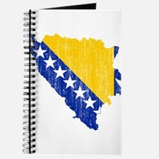 Bosnia And Herzegovina Flag And Map Journal