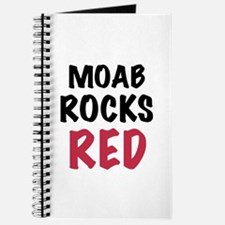 Moab rocks red Journal